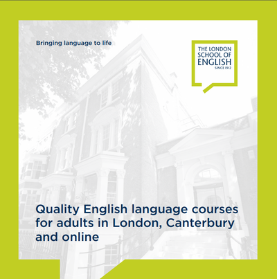 Brochure & Prices - The London School of English