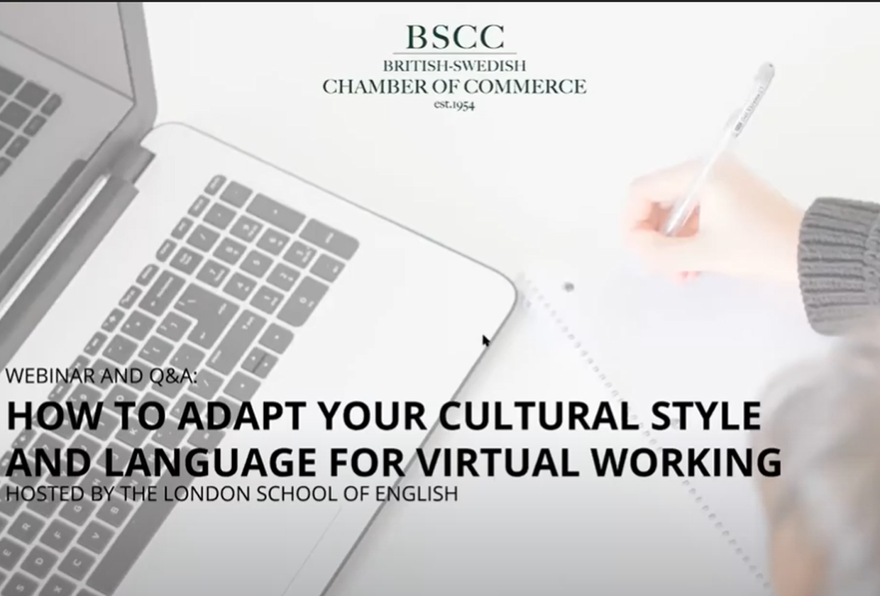 How to adapt your cultural style and language for virtual networking
